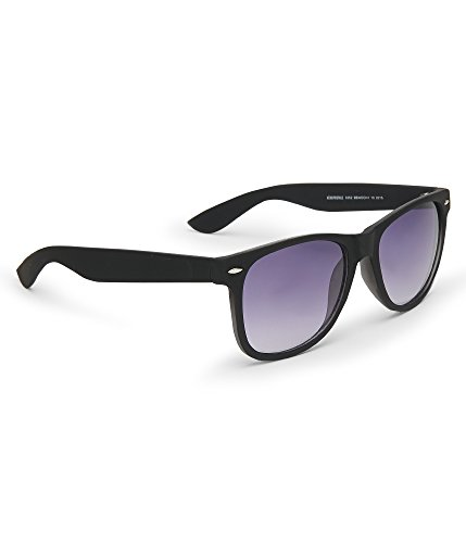 Aeropostale Men's Solid Waymax Sunglasses Black - Aeropostale Sunglasses