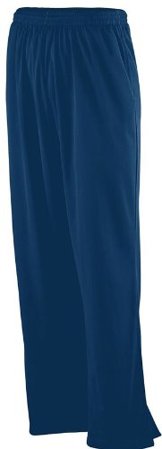 Augusta Sportswear 725 Solid Brushed Tricot Pant - Navy - (Solid Brushed Tricot Pant)