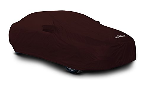 Coverking Custom Car Cover for Select Mercedes-Benz SL-Class Models - Stormproof Solid (Wine)