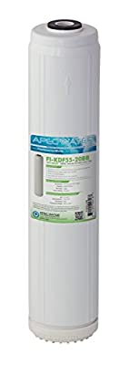 "APEC 20"" Whole House Replacement Water Filter Chlorine, Heavy Metal and Bacteria Removal (FI-KDF55-20BB)"
