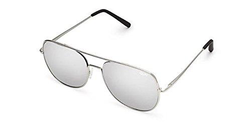 Quay Australia LIVING LARGE Mens Sunglasses in Silver. Aviator Sunglasses for - Sunglasses Quay Mens