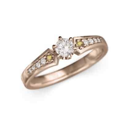 タンザナイト タンザナイト 18金ピンクゴールド エンゲージリング レディース 約0.22ct RingSize 16.5 B07QH43F9J 24|シトリン (黄水晶)/天然ダイヤモンド シトリン (黄水晶)/天然ダイヤモンド 24