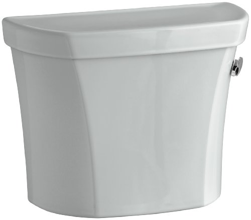 - KOHLER K-4467-UR-95 Wellworth(R) 1.28 GPF Right-Hand Toilet Tank with Insuliner(R) Tank Liner, Ice Grey Ice Grey