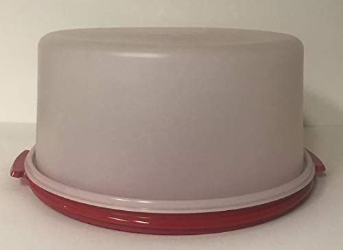TUPPERWARE ROUND CAKE TAKER WITH BASE
