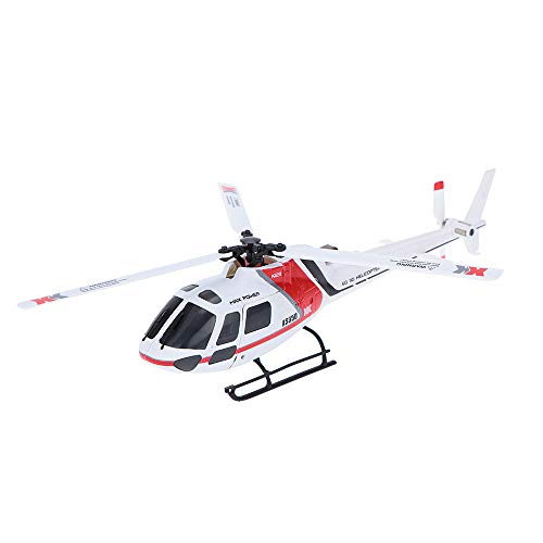 Zehui RC Helicopter XK K123 6CH Brushless AS350 Scale 3D6G System RTF Upgrade WLtoys V931 No Remote Control Version