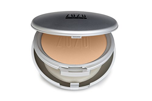 Zuzu Luxe - Dual Powder Foundation (D -14),0.32 ozMineral Powder, Pressed mineral powder, medium to full coverage, natural finish. Natural, Paraben Free, Vegan, Gluten-free, Cruelty-free, Non GMO.
