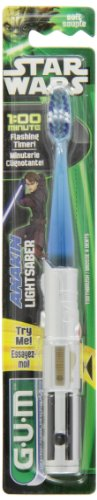 Glee Gum Star Wars Flash Light Toothbrush (Gum Toothbrush Vader)