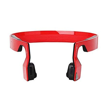 Aftershokz Bluez 2S Wireless Bone Conduction Bluetooth Headphones, Red, (AS500SR) - http://coolthings.us