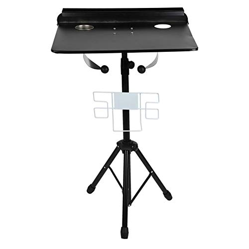 Tattoo Workstation, Portable Adjustable Desk Table Detachable Tattoo Studio Equipment Large Mobile Work Station for Tattoo Beauty Massage Pedicure Manicure Salon Instrument