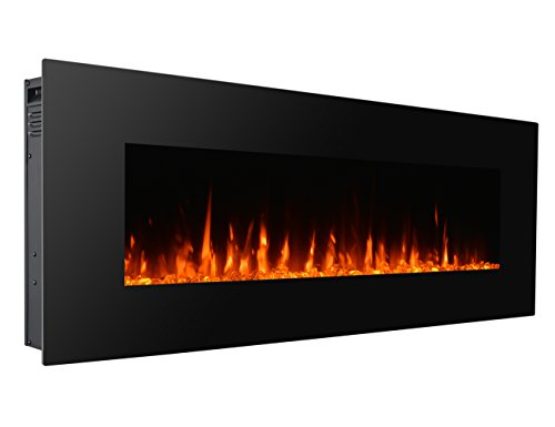 50 inch wall fireplace - 6