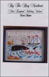 Boat Whaling (New England Whaling Waters Cross Stitch Chart)
