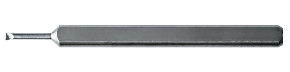 KYOCERA MBE-0350.125 Micro Boring Bar, Carbide, 0.1250'' Shank Diameter, 0.125'' Max Bore Depth, 1.5000'' Length