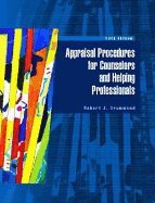 Appraisal Procedures for Counselors & Helping Professionals (5th, 04) by Drummond, Robert J [Hardcover (2003)]