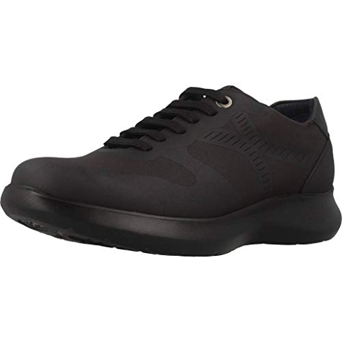 CALLAGHAN Walker, Scarpe Stringate Derby Uomo Nero