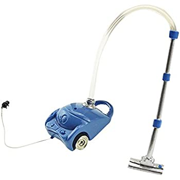 bjlongyi Resin Vacuum Cleaner Sweeper Dollhouse Models,Miniature Working Accessories Kids Toys DIY Dollhouse Decoration Blue