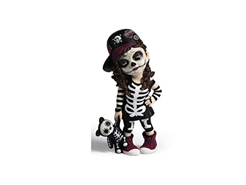 Veronese Day of the Dead DOD Sugar Skull Cosplay Kid Spooky Skeleton Girl 5.75