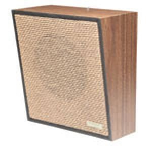 VALCOM VC-V-1062A Talkback Wall Speaker - Brown by Valcom