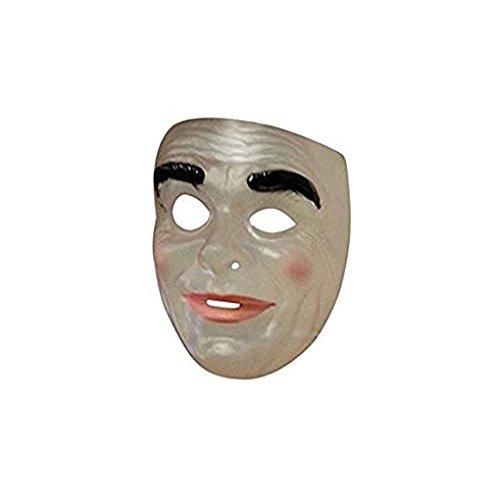 Faerynicethings Adult Size Transparent Masks - Old Man Smiling]()