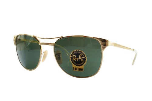 Ray-Ban 3429 001/M2 Gold RB3429 Signet Wayfarer Sunglasses Polarized Lens - Wayfarer Ray Gold Bans
