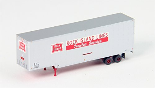 Trainworx N 40' Drop Frame Trailer, Rock Island for sale  Delivered anywhere in USA
