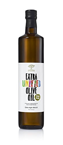 Extra Virgin Olive Oil - Extra Unified Cold Pressed Mediterranean Olive Oil - Fair Trade, Non GMO, Kosher EVOO Cooking Oil - Top 100 Olive Oils in the World, 25.3oz (Difference Between Extra Virgin And Pure Olive Oil)