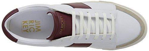 Jim Rickey Gusten - Botas Hombre Blanc (White/Bordeaux)