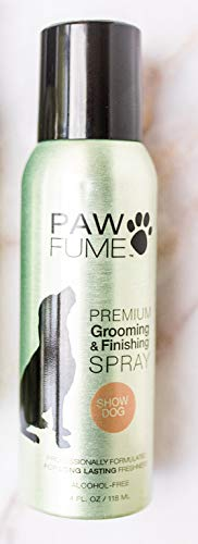 Pawfume Premium Grooming Spray (Show Dog) (Best In Show Dog Grooming)