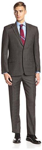 Ike Behar Plaid Suit - 1