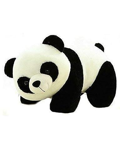 Yashika Toys Teddy Bear Panda Black and White Soft Toys - 30 cm