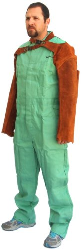 Forney 57201 Welding Sleeves Flame Retardant, 23-Inch, Brown