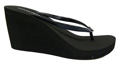 EMPORIO ARMANI swimwear , Tongs pour femme noir noir 39