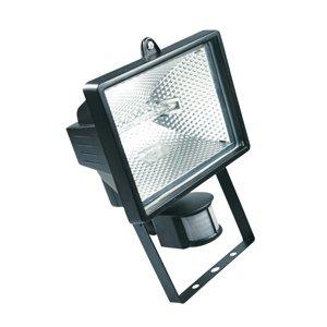 HALOTEC Foco Proyector halógeno con sensor de movimiento (IP44, 1500 lúmenes, 150 W