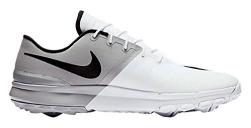 Nike Men's FI Flex Golf Shoes, White/Black/Anthracite/Wolf Gray, 11 M US
