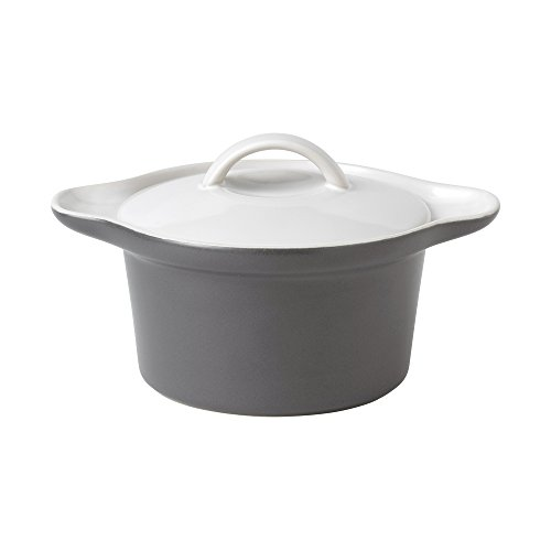 Gordon Ramsay 8772026697 Bread Street Individual Covered Casserole, 7-Inch by 5-Inch