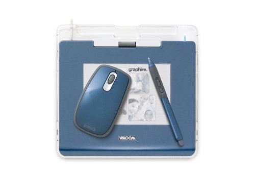 Wacom Blue Pen - Wacom Graphire4 4x5 USB Tablet (Blue)