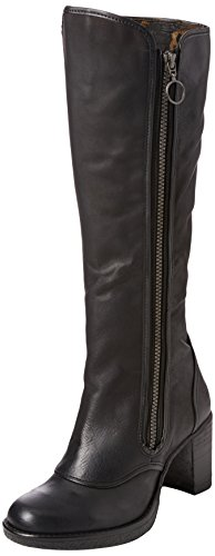 005 Hock Botas London Black Mujer Negro FLY 80Awqq