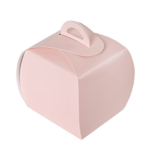 sh Cupcake Purse Favor Boxes for Candy Treat Gift Wrap Box Party Favor Boxes for Bridal Shower Wedding Party ()