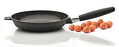 "Eurocast Professional Cookware 9.5"" Fry Pan with Removable Handle"