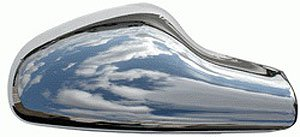 Chrysler PT-Cruiser Chrome Full Size Mirror Covers (2 Piece): Fits 2006, 2007, 2008, 2009 and 2010 ()