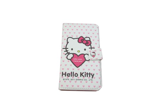 Gtt New Hello Kitty PC and Leather Case Cover for Samsung Galaxy S3 i9300 Pink/Love (Hello Kitty Phone Case For Galaxy S3)
