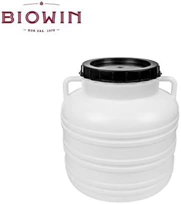 Wide Neck Barrel Wide-Necked Barrel 30/ L with Lid