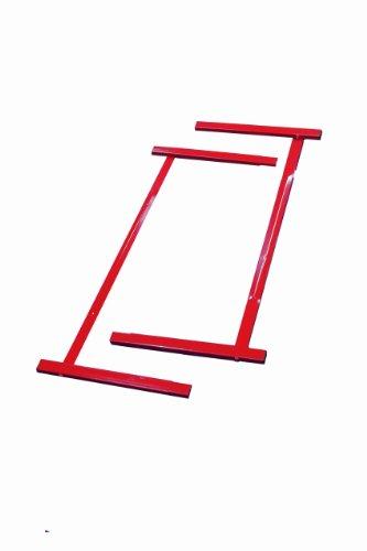 Tumbl Trak Junior Red Kip Bar Steel Extensions to Extend Base Supports, 4-Feet Width x 2-Feet Length