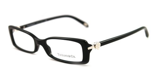 Amazon.com: TIFFANY & CO EYEGLASSES TF 2035 8001 OPTICAL RX BLACK ...