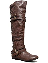 Vickie-16H Over Knee Boot