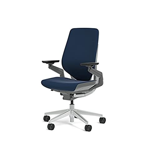 royal comfort office chair royal. Steelcase Gesture Office Chair - Cogent: Connect Royal Blue Fabric, Medium Seat Height, Comfort