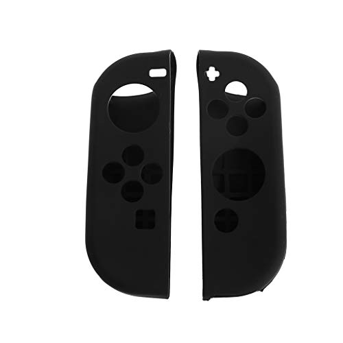 Slicone Skin - Shaoge 1 Pair Protective Cover Soft Slicone Case Skin Anti-Slip for NS Nintendo Switch NS JOY-CON Controller