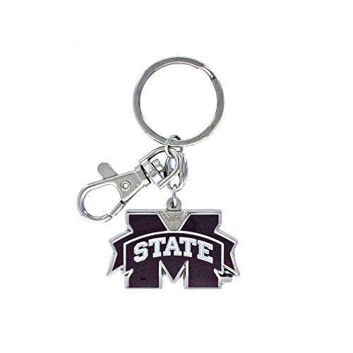 aminco NCAA Mississippi State Bulldogs Heavyweight Keychain