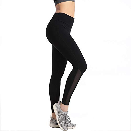 Rapida Yoga Anca Pantaloni Ad Asciugatura Alta Elastico Vita Sport Leggings Nero Collant Da Werui Dell' Palestra Donna Fitness Xqzzwf