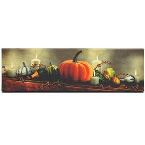 Ohio Wholesale 12137 - 17' x 5' x 1' 'Small Harvest Display' Battery Operated LED Lighted Canvas with Timer (Batteries Not Included)