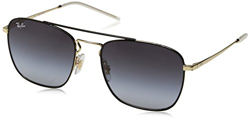 para Sol Hombre 55 0Rb3588 Ban Black Top Ray de Gafas Gold On FYXwPg
